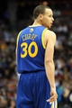 Apr 23, 2013; Denver, CO, USA; Golden State Warriors point guard Stephen Curry (30) in the fourth quarter against the Denver Nuggets during game two in the first round of the 2013 NBA playoffs at the Pepsi Center. The Warriors won 131-117. Mandatory Credit: Isaiah J. Downing-USA TODAY Sports