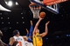 May 5, 2013; New York, NY, USA; Indiana Pacers power forward Tyler Hansbrough (50) puts up a layup against the New York Knicks during the second half of game one of the second round of the NBA Playoffs. Pacers won the game 102-95. Mandatory Credit: Joe Camporeale-USA TODAY Sports