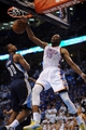 May 7, 2013; Oklahoma City, OK, USA; Oklahoma City Thunder forward Kevin Durant (35) dunks the ball against Memphis Grizzlies forward Darrell Arthur (00) during the first half in game two of the second round of the 2013 NBA Playoffs at Chesapeake Energy Arena. Mandatory Credit: Mark D. Smith-USA TODAY Sports