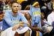 Apr 20, 2013; Denver, CO, USA; Denver Nuggets guard Evan Fournier (94) and guard Ty Lawson (3) on the bench during the second half of game one of the first round of the 2013 NBA Playoffs against the Golden State Warriors at the Pepsi Center. Mandatory Credit: Chris Humphreys-USA TODAY Sports