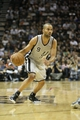 May 19, 2013; San Antonio, TX, USA; San Antonio Spurs point guard Tony Parker (9) drives the ball during the first quarter against the Memphis Grizzlies in game one of the Western Conference finals of the 2013 NBA Playoffs at AT&T Center. Mandatory Credit: Troy Taormina-USA TODAY Sports