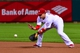 Jun 17, 2013; St. Louis, MO, USA; St. Louis Cardinals first baseman Allen Craig (21) fields a ball against the Chicago Cubs at Busch Stadium. Mandatory Credit: Scott Rovak-USA TODAY Sports