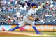 Jun 19, 2013; Bronx, NY, USA; Los Angeles Dodgers starting pitcher Chris Capuano (35) pitches against the New York Yankees during the first inning of a game at Yankee Stadium. Mandatory Credit: Brad Penner-USA TODAY Sports