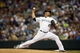 Jun 28, 2013; Denver, CO, USA; Colorado Rockies pitcher Jhoulys Chacin (45) delivers a pitch during the fourth inning against the San Francisco Giants at Coors Field. Mandatory Credit: Chris Humphreys-USA TODAY Sports