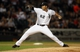 Jun 28, 2013; Chicago, IL, USA; Chicago White Sox starting pitcher Jose Quintana throws a pitch against the Cleveland Indians during the first inning in the second game of a baseball doubleheader at US Cellular Field. Mandatory Credit: Jerry Lai-USA TODAY Sports