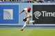 June 30, 2013; Los Angeles, CA, USA; Philadelphia Phillies right fielder Delmon Young (3) catches a fly ball during the seventh inning against the Los Angeles Dodgers at Dodger Stadium. Mandatory Credit: Gary A. Vasquez-USA TODAY Sports