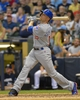 Jun 27, 2013; Milwaukee, WI, USA;  Chicago Cubs right fielder Nate Schierholtz during the game against the Milwaukee Brewers at Miller Park. Mandatory Credit: Benny Sieu-USA TODAY Sports