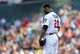 Jul 2, 2013; Minneapolis, MN, USA; Minnesota Twins starting pitcher Samuel Deduno (21) pauses before throwing out the first pitch against the New York Yankees at Target Field. Mandatory Credit: Jesse Johnson-USA TODAY Sports
