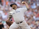 Jul 3, 2013; Minneapolis, MN, USA; New York Yankees pitcher C.C. Sabathia (52) delivers a pitch during the second inning against the Minnesota Twins at Target Field. Mandatory Credit: Brace Hemmelgarn-USA TODAY Sports