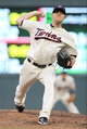 Jul 3, 2013; Minneapolis, MN, USA; Minnesota Twins pitcher P.J. Walters (39) delivers a pitch during the fourth inning against the New York Yankees at Target Field. Mandatory Credit: Brace Hemmelgarn-USA TODAY Sports