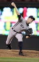 Jul 3, 2013; Minneapolis, MN, USA; New York Yankees pitcher David Robertson (30) delivers a pitch during the eighth inning against the Minnesota Twins at Target Field. The Yankees defeated the Twins 3-2. Mandatory Credit: Brace Hemmelgarn-USA TODAY Sports