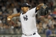 Jul 5, 2013; Bronx, NY, USA; New York Yankees starting pitcher Ivan Nova (47) pitches against the Baltimore Orioles during the seventh inning of a game at Yankee Stadium. Mandatory Credit: Brad Penner-USA TODAY Sports