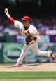 Jul 6, 2013; St. Louis, MO, USA; St. Louis Cardinals starting pitcher Joe Kelly (58) throws to a Miami Marlins batter during the first inning at Busch Stadium. Mandatory Credit: Jeff Curry-USA TODAY Sports