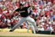 Jul 6, 2013; St. Louis, MO, USA; Miami Marlins starting pitcher Nate Eovaldi (24) throws to a St. Louis Cardinals batter during the third inning at Busch Stadium. Mandatory Credit: Jeff Curry-USA TODAY Sports