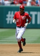 Jul 7, 2013; Washington, DC, USA; Washington Nationals third baseman Ryan Zimmerman (11) rounds the bases after hitting a grand slam during the third inning against the San Diego Padres at Nationals Park. Mandatory Credit: Brad Mills-USA TODAY Sports