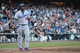July 6, 2013; San Francisco, CA, USA; Los Angeles Dodgers right fielder Yasiel Puig (66) walks back to the dugout after striking out during the ninth inning against the San Francisco Giants at AT&T Park. The Giants defeated the Dodgers 4-2. Mandatory Credit: Kyle Terada-USA TODAY Sports