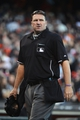 July 6, 2013; San Francisco, CA, USA; MLB umpire Tony Randazzo (11) looks on after the game between the San Francisco Giants and the Los Angeles Dodgers at AT&T Park. The Giants defeated the Dodgers 4-2. Mandatory Credit: Kyle Terada-USA TODAY Sports