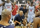 Jul 14, 2013; Las Vegas, NV, USA; Washington Wizards head coach Don Newman instructs his team during a timeout in play against the New York Nicks during an NBA Summer League game at the Cox Pavillion. Mandatory Credit: Stephen R. Sylvanie-USA TODAY Sports