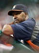 Jul 21, 2013; Houston, TX, USA; Houston Astros manager Bo Porter (16) watches from the dugout during a game against the Seattle Mariners at Minute Maid Park. Mandatory Credit: Troy Taormina-USA TODAY Sports