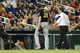 Jul 22, 2013; Washington, DC, USA; Pittsburgh Pirates relief pitcher Jason Grilli (39) is escorted off the field by a trainer after suffering an apparent arm injury during the ninth inning against the Washington Nationals at Nationals Park.  Mandatory Credit: Brad Mills-USA TODAY Sports
