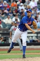 Jul 25, 2013; New York, NY, USA;   New York Mets relief pitcher David Aardsma (30) throws to first during the seventh inning against the Atlanta Braves at Citi Field. Mets won 7-4.  Mandatory Credit: Anthony Gruppuso-USA TODAY Sports