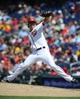 Jul 25, 2013; Washington, DC, USA; Washington Nationals relief pitcher Tyler Clippard (36) throws during the eighth inning against the Pittsburgh Pirates at Nationals Park. Mandatory Credit: Brad Mills-USA TODAY Sports