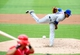 Jul 26, 2013; Washington, DC, USA; New York Mets pitcher Jenrry Mejia (58) throws a pitch in the second inning against the Washington Nationals at Nationals Park. Mandatory Credit: Evan Habeeb-USA TODAY Sports