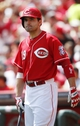 Aug 4, 2013; Cincinnati, OH, USA; Cincinnati Reds first baseman Joey Votto (19) prepares to bat during the first inning against the St. Louis Cardinals at Great American Ball Park. Mandatory Credit: Frank Victores-USA TODAY Sports