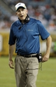 Aug 9, 2013; Jacksonville, FL, USA; Miami Dolphins head coach Joe Philbin against the Jacksonville Jaguars during the second half at EverBank Field. Miami Dolphins defeated the Jacksonville Jaguars 27-3. Mandatory Credit: Kim Klement-USA TODAY Sports