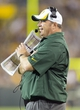 Aug 9, 2013; Green Bay, WI, USA; Green Bay Packers head coach Mike McCarthy reacts to a call during the fourth quarter against the Arizona Cardinals at Lambeau Field.  The Cardinals won 17-0.  Mandatory Credit: Jeff Hanisch-USA TODAY Sports