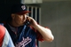 Jul 30, 2013; Detroit, MI, USA; Washington Nationals pitching coach Steve McCatty (54) on the phone to the bullpen against the Detroit Tigers at Comerica Park. Mandatory Credit: Rick Osentoski-USA TODAY Sports