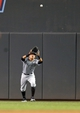 Aug 15, 2013; Minneapolis, MN, USA; Chicago White Sox right fielder Avisail Garcia (26) catches a fly ball in the fifth inning against the Minnesota Twins at Target Field. Mandatory Credit: Jesse Johnson-USA TODAY Sports