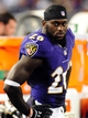 Aug 15, 2013; Baltimore, MD, USA; Baltimore Ravens safety Matt Elam (26) looks on during the game against the Atlanta Falcons at M&T Bank Stadium. Mandatory Credit: Evan Habeeb-USA TODAY Sports