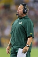 Aug 9, 2013; Green Bay, WI, USA; Green Bay Packers special teams coach Shawn Slocum during the game against the Arizona Cardinals at Lambeau Field.  The Cardinals won 17-0.  Mandatory Credit: Jeff Hanisch-USA TODAY Sports