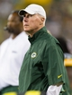 Aug 9, 2013; Green Bay, WI, USA; Green Bay Packers general manager Ted Thompson during the game against the Arizona Cardinals at Lambeau Field.  The Cardinals won 17-0.  Mandatory Credit: Jeff Hanisch-USA TODAY Sports