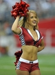 August 17, 2013; Phoenix, AZ, USA; Arizona Cardinals cheerleader performs during a stoppage in play in the second half at University of Phoenix Stadium. Mandatory Credit: Gary A. Vasquez-USA TODAY Sports