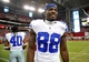 August 17, 2013; Phoenix, AZ, USA; Dallas Cowboys wide receiver Dez Bryant (88) following the 12-7 loss against Arizona Cardinals at University of Phoenix Stadium. Mandatory Credit: Gary A. Vasquez-USA TODAY Sports