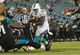 Aug 9, 2013; Jacksonville, FL, USA; Miami Dolphins running back Jonas Gray (32) runs with the ball during the second half against the Jacksonville Jaguars at EverBank Field. Miami Dolphins defeated the Jacksonville Jaguars 27-3. Mandatory Credit: Kim Klement-USA TODAY Sports