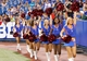 Aug 16, 2013; Orchard Park, NY, USA; A general view of the Buffalo Bills cheerleaders during the game against the Minnesota Vikings at Ralph Wilson Stadium. Bills beat the Vikings 20-16. Mandatory Credit: Kevin Hoffman-USA TODAY Sports