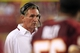 Aug 19, 2013; Landover, MD, USA; Washington Redskins head coach Mike Shanahan watches from the sidelines against the Pittsburgh Steelers in the fourth quarter at FedEx Field. The Redskins won 24-13. Mandatory Credit: Geoff Burke-USA TODAY Sports