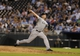 Aug 20, 2013; Kansas City, MO, USA; Chicago White Sox relief pitcher Addison Reed (43) delivers a pitch in the ninth inning against the Kansas City Royals at Kauffman Stadium. Chicago won the game 2-0. Mandatory Credit: John Rieger-USA TODAY Sports