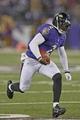 Aug 22, 2013; Baltimore, MD, USA; Baltimore Ravens quarterback Tyrod Taylor (2) runs during the game against the Carolina Panthers at M&T Bank Stadium. Mandatory Credit: Mitch Stringer-USA TODAY Sports