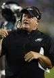 Aug 24, 2013; Jacksonville, FL, USA; Philadelphia Eagles head coach Chip Kelly points during the second quarter of their game against the Jacksonville Jaguars at EverBank Field. Mandatory Credit: Phil Sears-USA TODAY Sports