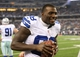 Aug 24, 2013; Arlington, TX, USA; Dallas Cowboys receiver Dez Bryant (88) on the sidelines during the game against the Cincinnati Bengals at AT&T Stadium. The Cowboys beat the Bengals 24-18. Mandatory Credit: Matthew Emmons-USA TODAY Sports