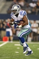 Aug 24, 2013; Arlington, TX, USA; Dallas Cowboys running back Joseph Randle (35) runs with the ball in the fourth quarter against the Cincinnati Bengals at AT&T Stadium. The Cowboys beat the Bengals 24-18. Mandatory Credit: Matthew Emmons-USA TODAY Sports
