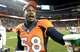 Aug 24, 2013; Denver, CO, USA; Denver Broncos outside linebacker Von Miller (58) following the preseason win over the St. Louis Rams at Sports Authority Field .The Broncos defeated the Rams 27-26. Mandatory Credit: Ron Chenoy-USA TODAY Sports