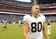 Aug 25, 2013; Houston, TX, USA; New Orleans Saints tight end Jimmy Graham (80) walks off the field against the Houston Texans during the second half at Reliant Stadium. The Saints won 31-23. Mandatory Credit: Thomas Campbell-USA TODAY Sports