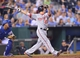 Aug 23, 2013; Kansas City, MO, USA;  Washington Nationals first basemen Adam LaRoche (25) at bat against the Kansas City Royals during the seventh inning at Kauffman Stadium.  Mandatory Credit: Peter G. Aiken-USA TODAY Sports