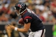 Aug 25, 2013; Houston, TX, USA; Houston Texans quarterback Case Keenum (7) scrambles against the New Orleans Saints during the second half at Reliant Stadium. The Saints won 31-23. Mandatory Credit: Thomas Campbell-USA TODAY Sports