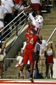 Aug 29, 2013; Fresno, CA, USA; Fresno State Bulldogs wide receiver Davante Adams (15) catches a touchdown over Rutgers Scarlet Knights defensive back Lew Toler (24) in the second quarter at Bulldog Stadium. Mandatory Credit: Cary Edmondson-USA TODAY Sports